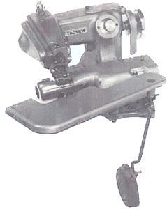 Tacsew T1718-4 Full Size BlindStitch Hemmer Machine TAIWAN, 8mmLift, 3-8mmSL, CylinderArm, SkipStitch, CurveNeedle, KneeLever,SetUp PowerStand 2500SPM