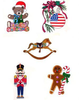 Dalco Christmas V Collection Applique Designs