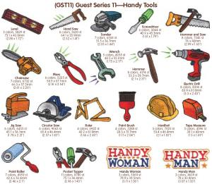 Cactus Punch Guest Series GST11: Handy Tools