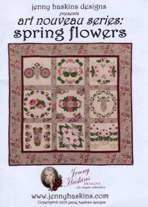 Jenny Haskins Art Noveau Series Spring Flowers Multi-Formatted CD