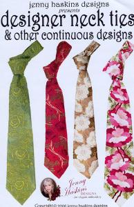Jenny Haskins Designer Neck Tie Collections & Other Continuous Designs Multi-Formatted CD