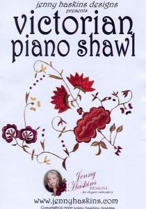 Jenny Haskins Victorian Piano Shawl Multi-Formatted CD
