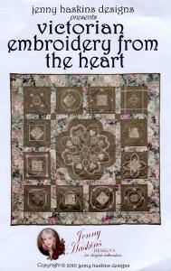 Jenny Haskins Victorian Embroidery From The Heart Multi-Formatted CD