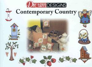 OESD 221CC Contemporary Country Embroidery Designs Card
