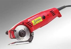 "Eastman Chickadee D2-1 Commercial Red 2.25"" Rotary Blade Cutter Fabric Cutting Machine 110V, Cuts Thru 1/2"" Materials"