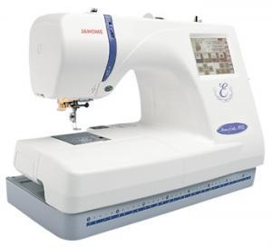 "Janome, Memory Craft, MC300E,   Embroidery Only, 300E,   Factory Serviced, 25/5Yr Ext Wnty, Janome MC300E, FS Embroidery Machine 300E, 5.5x7.9"", & 4.3"" Hoop, PC Link, Card Port, 100 Designs, 3 Fonts, Resize, Rotate, Trace, Zoom, Count, 650SPM, 25/5Yr Ext Wnty"