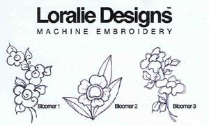 Loralie Bloomers 630915 Jumbo Designs on Multi-Formatted CD