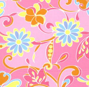 """Fabric Finders15 Yard Bolt at $8.60/Yd, Pattern 377 Floral 100% Pima Cotton Fabric 60"""" Inches Wide"""
