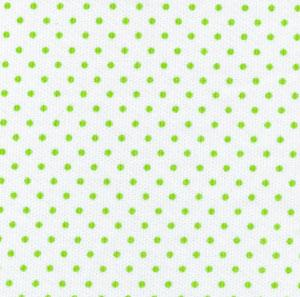 Fabric Finders 15 Yd Bolt 9.99 A Yd 450 100 percent Pima Cotton White with Green Dot 60 inch Pique