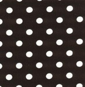 Fabric Finders 15 Yd Bolt 9.99 A Yd 435 Black With White Dot Pique 100% Pima Cotton 60 inch