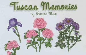 OESD 806 Tuscan Memories By Louise Max Embroidery Card