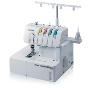 13045: Brother 2340CV 3 Needle 3-6mm Cover Hem Straight Chain Stitch Machine