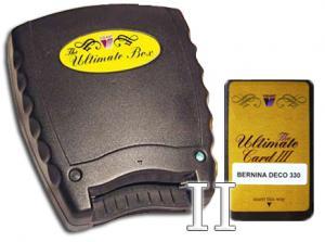 Vikant Ultimate Box II BASIC 2 Slot +Bernina Deco 330 340 Blank Card, Reader Writer Box +3 Extras!
