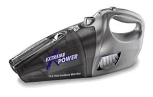 Dirt Devil M0944 Extreme Power Wet Dry Cordless Rechargeable Hand Vac Vacuum Cleaner, 14.4 Volts, Quick Flip Crevice Tool, Squeegee, 2.5Lb, Wall Mount