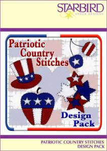 Starbird Embroidery Designs Patriotic Country Stitches Design Pack
