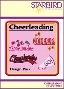Starbird Embroidery Designs Cheerleading Design Pack