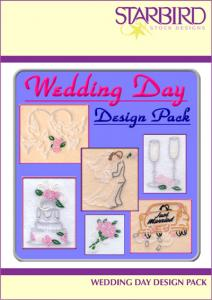 Starbird Embroidery Designs Wedding Day Design Pack