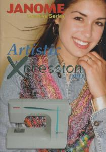13634: Creative Artistic Xpression Instruction DVD Vol 1 for FM725 Needle Punch Felting Machine
