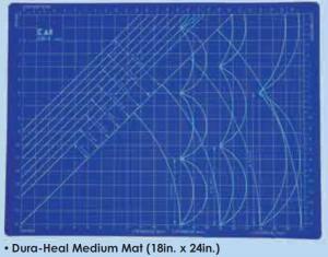 "Kai CB-2 18"" x 24"" Dura-Heal Large Self Healing Cutting Mat for Rotary Cutters"