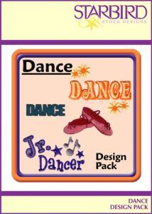 Starbird Embroidery Designs Dance Design Pack