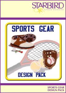 Starbird Embroidery Designs Sports Gear Design Pack