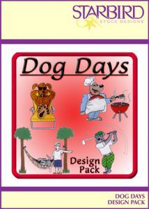 Starbird Embroidery Designs Dog Days Design Pack