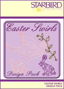 Starbird Embroidery Designs Easter Swirls Design Pack