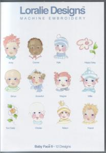 Loralie Embroidery Designs 631100 Baby Face II - Multi-Formatted CD