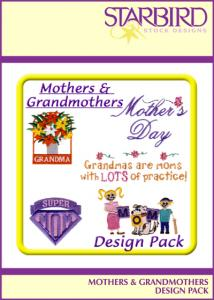 Starbird Embroidery Designs Mothers & Grandmothers Design Pack