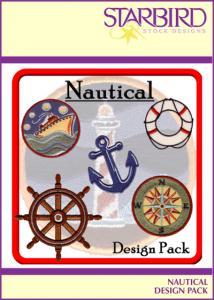 Starbird Embroidery Designs Nautical Design Pack