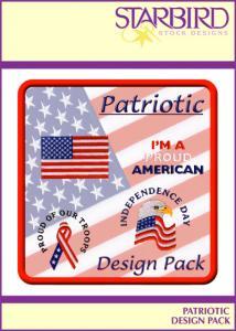 Starbird Embroidery Designs Patriotic Design Pack