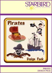 Starbird Embroidery Designs Pirates Design Pack