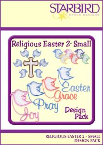 Starbird Embroidery Designs Religious Easter #2 - Small Design Pack