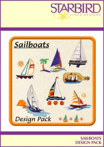 Starbird Embroidery Designs Sailboats Design Pack
