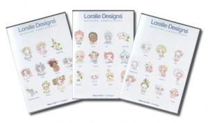 Loralie Embroidery Designs Baby Face I, II & III - Multi-Formatted CD 3 Volume Set