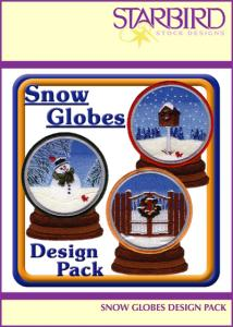 Starbird Embroidery Designs Snow Globes Design Pack