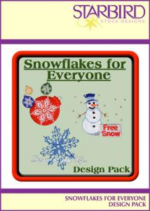 Starbird Embroidery Designs Snowflakes for Everyone Design Pack