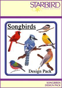 Starbird Embroidery Designs Songbirds Design Pack