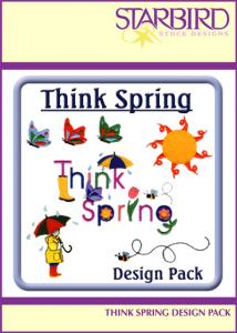 Starbird Embroidery Designs Think Spring Design Pack