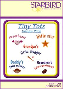 Starbird Embroidery Designs Tiny Tots Design Pack