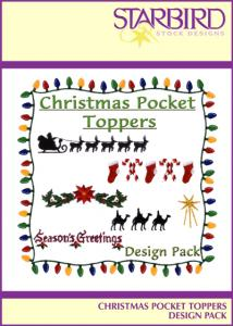Starbird Embroidery Designs Christmas Pocket Toppers Design Pack
