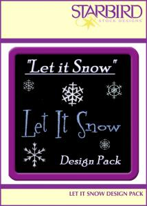 Starbird Embroidery Designs Let It Snow Design Pack