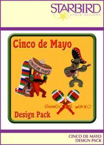 Starbird Embroidery Designs Cinco de Mayo Design Pack