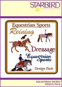 Starbird Embroidery Designs Equestrian Sports Design Pack