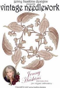 Jenny Haskins 1400029-33 Vintage Needlework 24 Large Designs Multi-Formatted CD