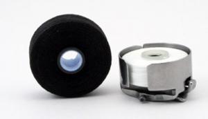 FilTec 12434 Magnetic Core L Prewound Bobbins 100x135Yd 60wt Poly White Thread for Brother PRS100 PR600 PR1000 PR1050X Babylock Models (PRWB135YDx100)