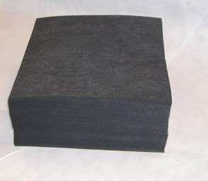 "14248: HV 1525Black Tearaway Stabilizer Backing 500 Sheets 8x8"" for 6x6"" 5x7"" Hoops"