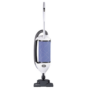 """SEBO Felix Kombi 9824AM Ice Blue Upright Vacuum Cleaner, 11A, 1300W, 102CFM, 68 dBA, 12"""" Cleaning Path, 3 Stage S Class Filter"""