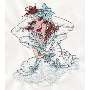 Loralie Embroidery Designs 631411  Belles 1 Collection Multi-Formatted CD