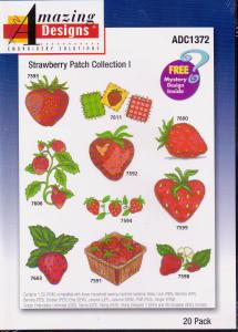 Amazing Designs ADC1372 Strawberry Patch Collection I Multi-Formatted CD